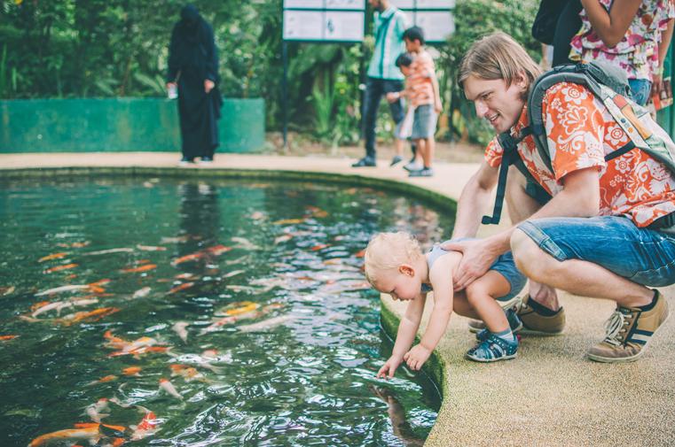 05.Kuala Lumpur Bird Park-Malezja-z dzieckiem