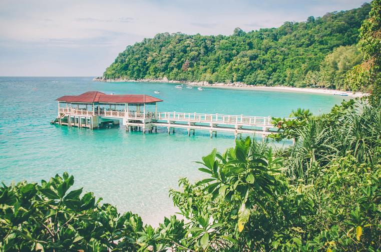08a. Wyspy Parhentian-Besar-Malezja z dzieckiem