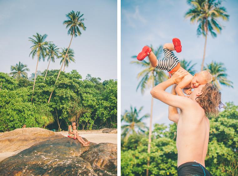 06. Wyspy Parhentian-Kecil-Malezja z dzieckiem