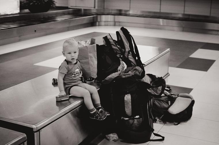 08.Lot samolotem z małym dzieckiem