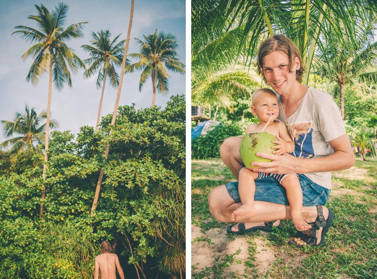 13. Wyspy Parhentian-Kecil-Malezja z dzieckiem