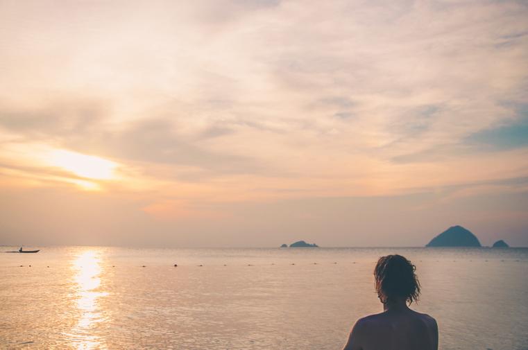 18. Wyspy Parhentian-Kecil-Malezja z dzieckiem