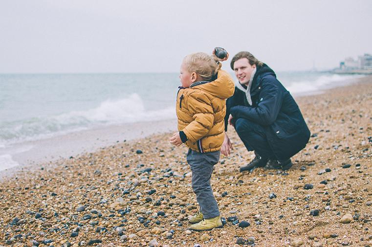 04a.Kanał La Manche - Brighton-Anglia z dzieckiem
