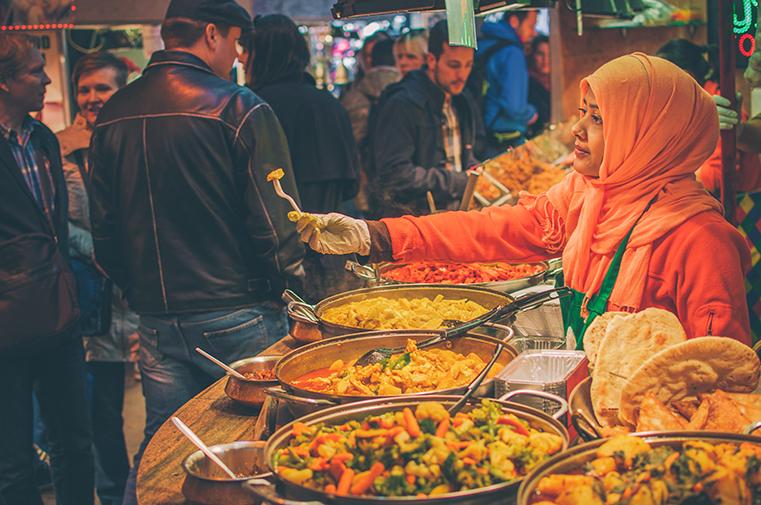 07a.Camden Market - Londyn z dzieckiem - kulinaria