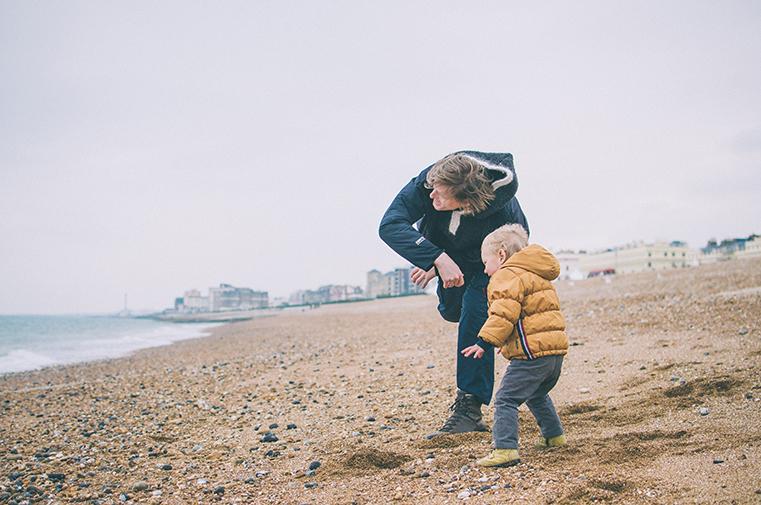 08a.Kanał La Manche - Brighton-Anglia z dzieckiem