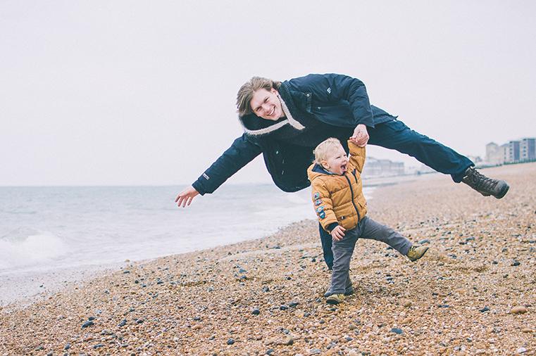 09a.Kanał La Manche - Brighton-Anglia z dzieckiem