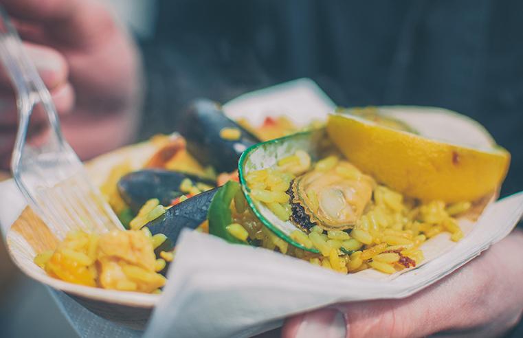 13.Camden Market - Londyn z dzieckiem - kulinaria