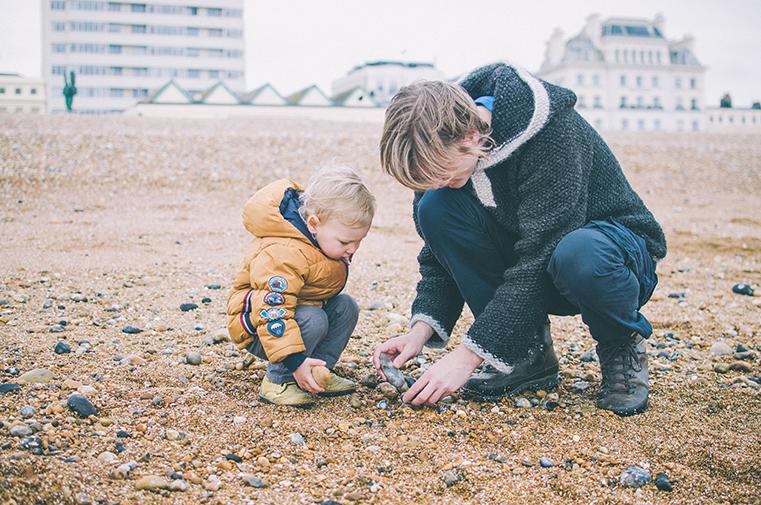 13a.Kanał La Manche - Brighton-Anglia z dzieckiem