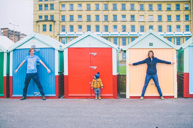 14c.Brighton-Anglia z dzieckiem