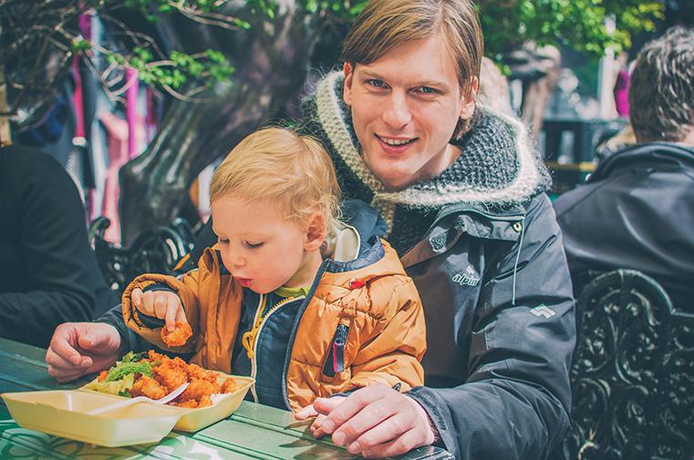 16.Camden Market - Londyn z dzieckiem - kulinaria