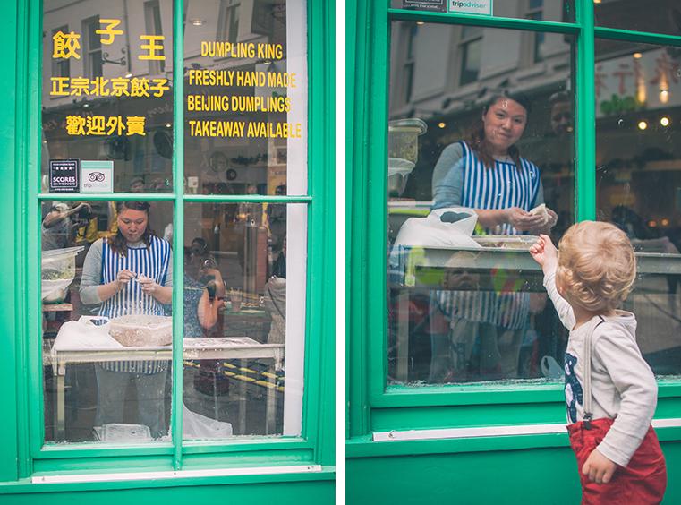 19c.Londyn z dzieckiem - Chinatown