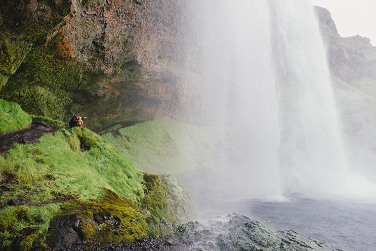 04.Wodospady na Islandii - Skogafoss - Seljandofoss - podroz z dzieckiem