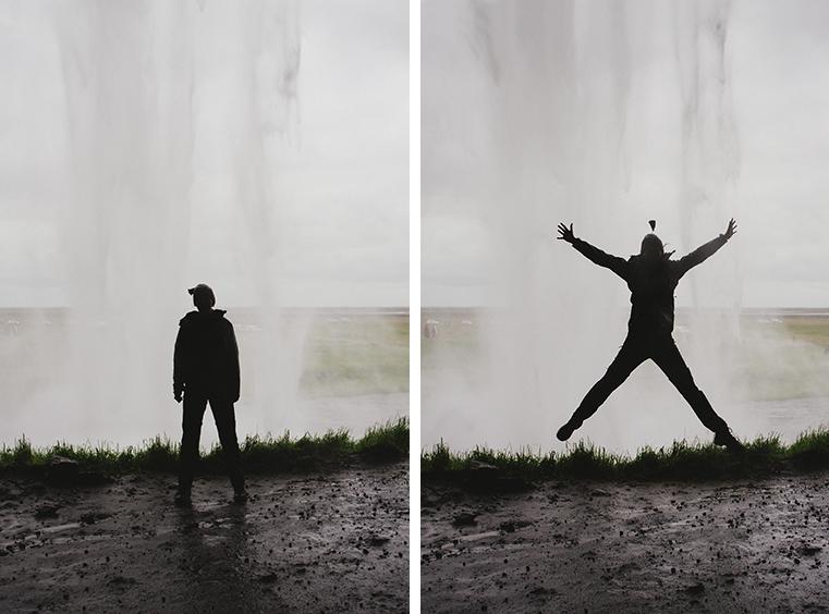 07a.Wodospady na Islandii - Skogafoss - Seljandofoss - podroz z dzieckiem