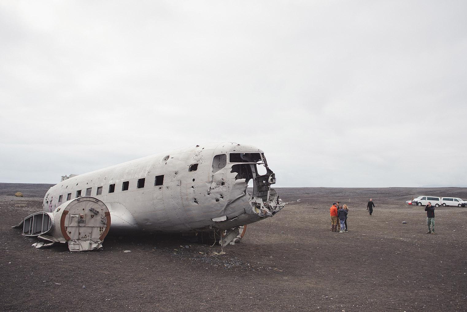 11A. Wrak samolotu Islandia - Dakota- podroz z dzieckiem