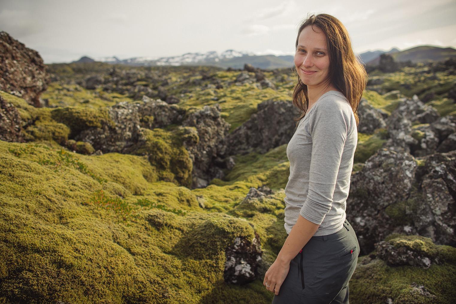 05.Pola lawy - Polwysep Snaefellsnes -Islandia - podroz z dzieckiem