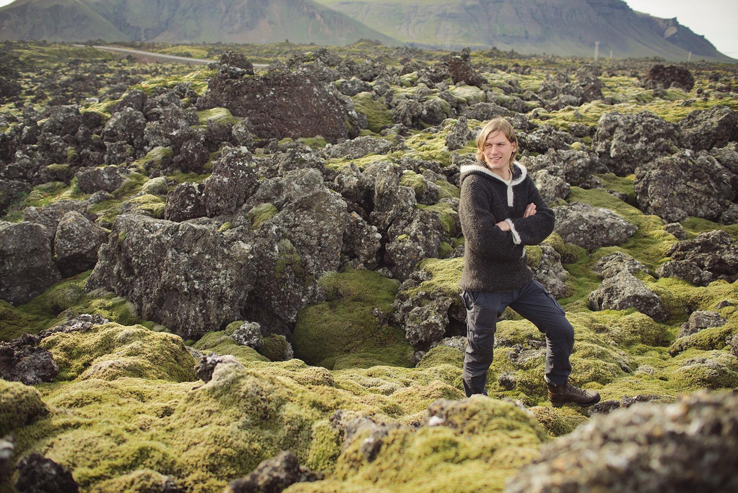 07.Pola lawy - Polwysep Snaefellsnes -Islandia - podroz z dzieckiem