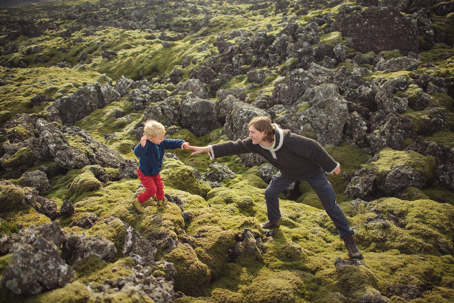 10.Pola lawy - Polwysep Snaefellsnes -Islandia - podroz z dzieckiem
