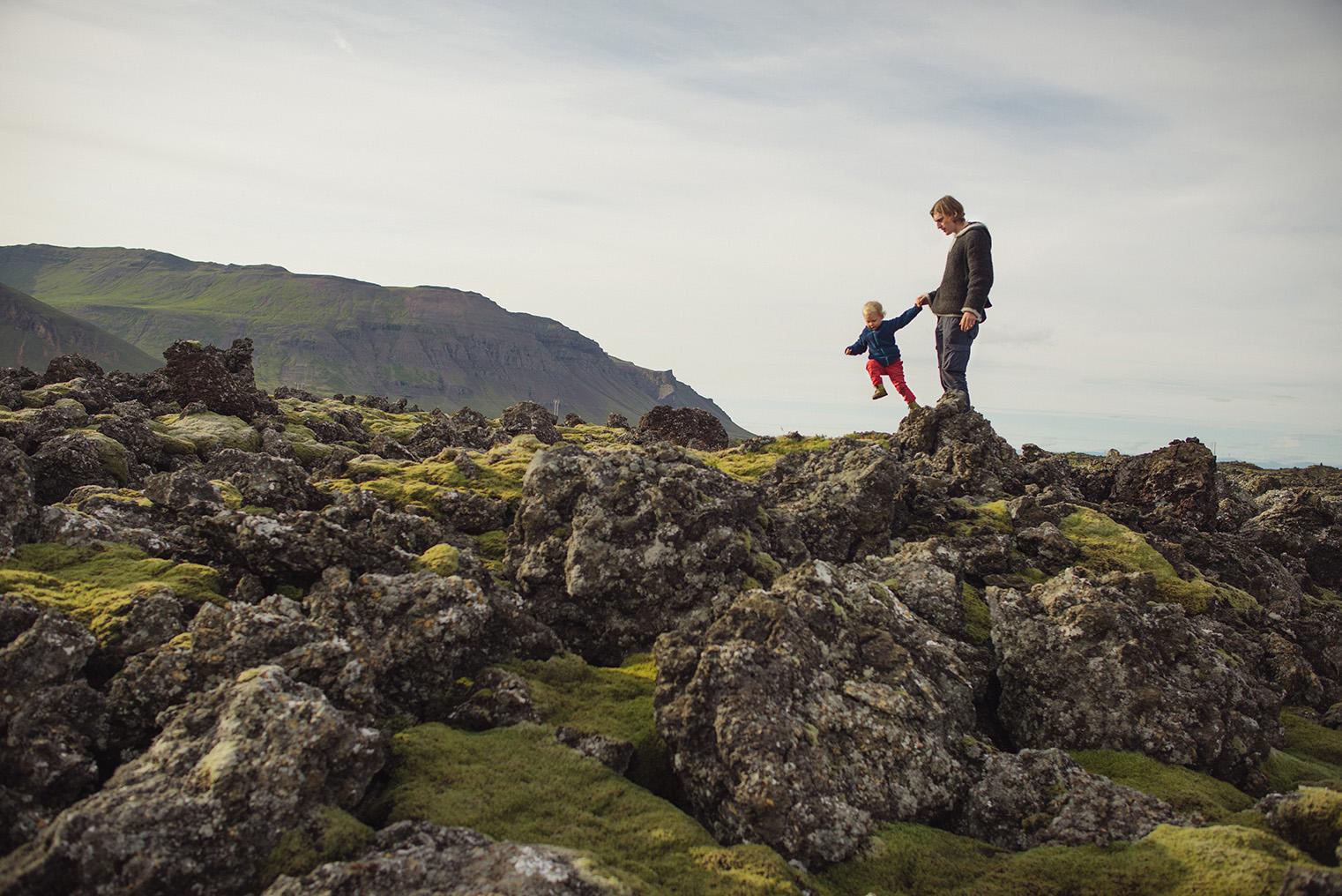 12.Pola lawy - Polwysep Snaefellsnes -Islandia - podroz z dzieckiem
