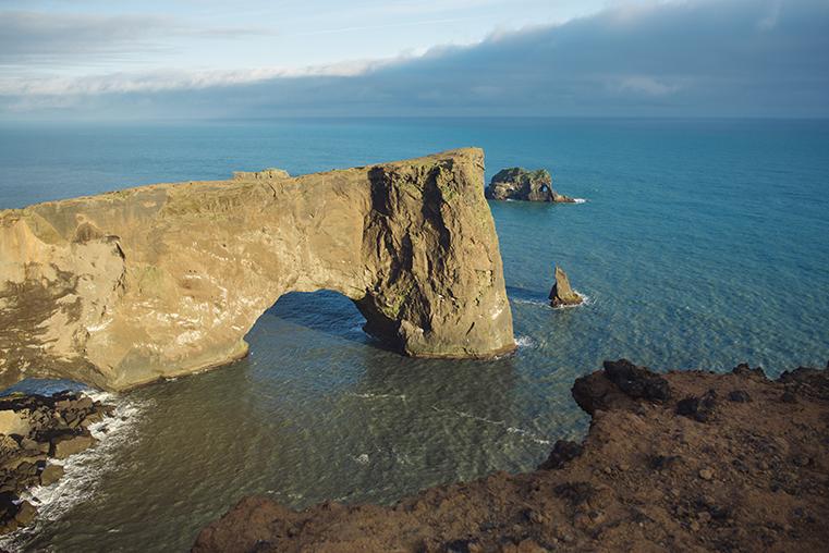 04.Czarne plaze Islandii - Reynisdrangar - Dyrholaey - podroz z dzieckiem