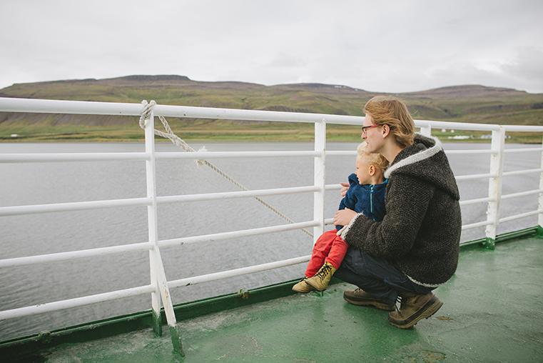 07.Baldur - prom na Fiordy Zachodnie - Islandia - podroz z dzieckiem