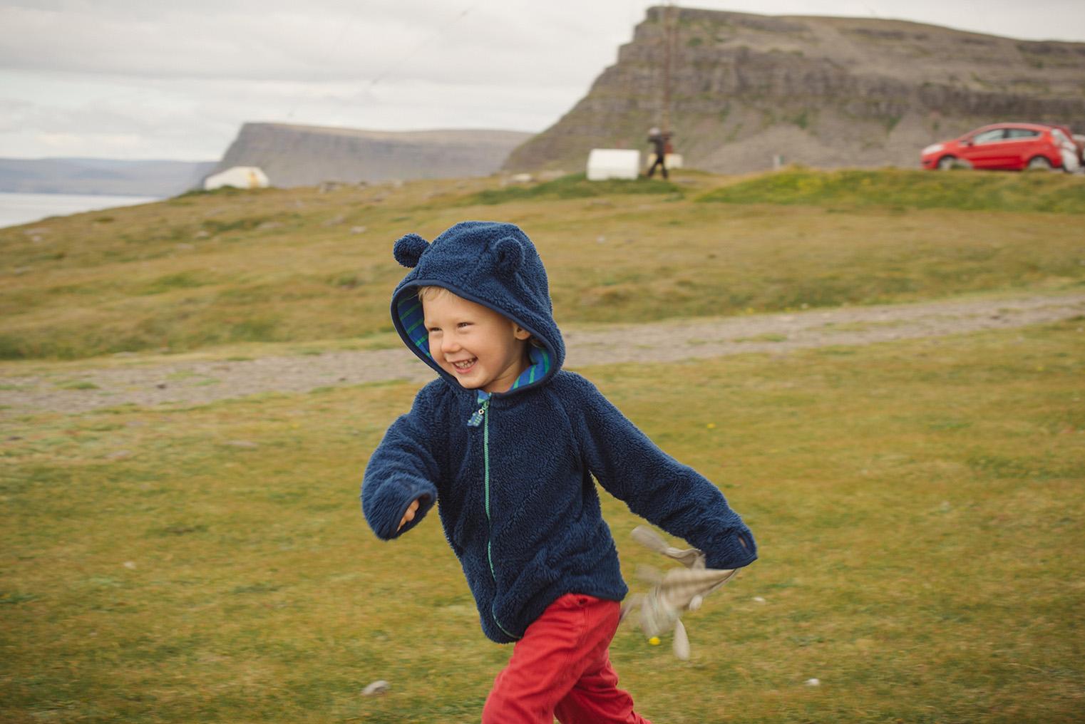 10.Maskonury Islandia - Latrabjarg - fiordy zachodnie - podroz z dzieckiem