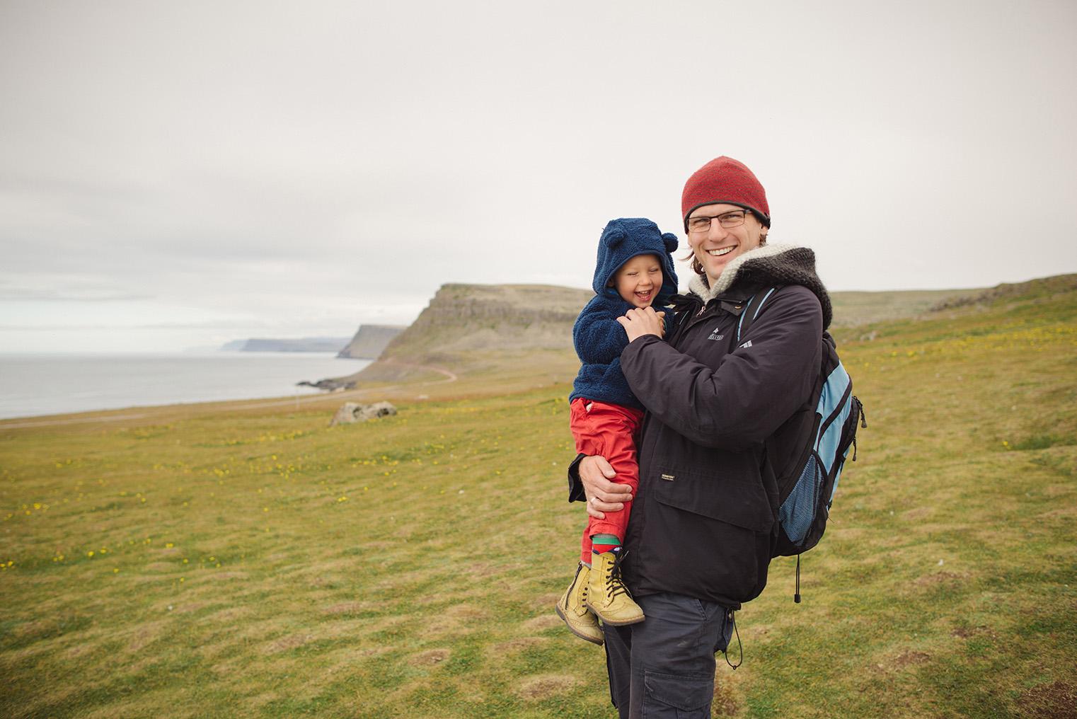 15.Maskonury Islandia - Latrabjarg - fiordy zachodnie - podroz z dzieckiem