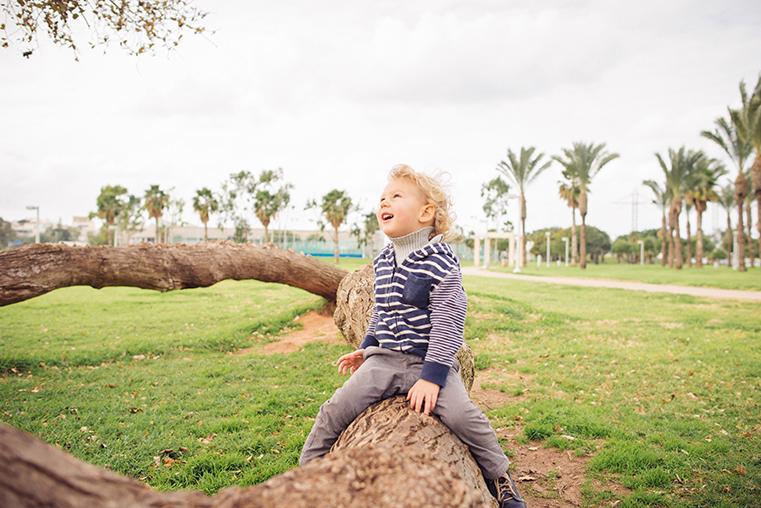 05c.Zima w Izraelu - Tel Awiw z dzieckiem
