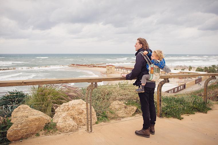07.Zima w Izraelu - Tel Awiw z dzieckiem