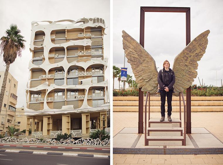 09.Zima w Izraelu - Tel Awiw z dzieckiem