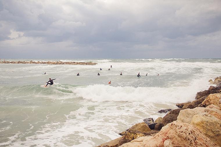 18.Zima w Izraelu - Tel Awiw z dzieckiem