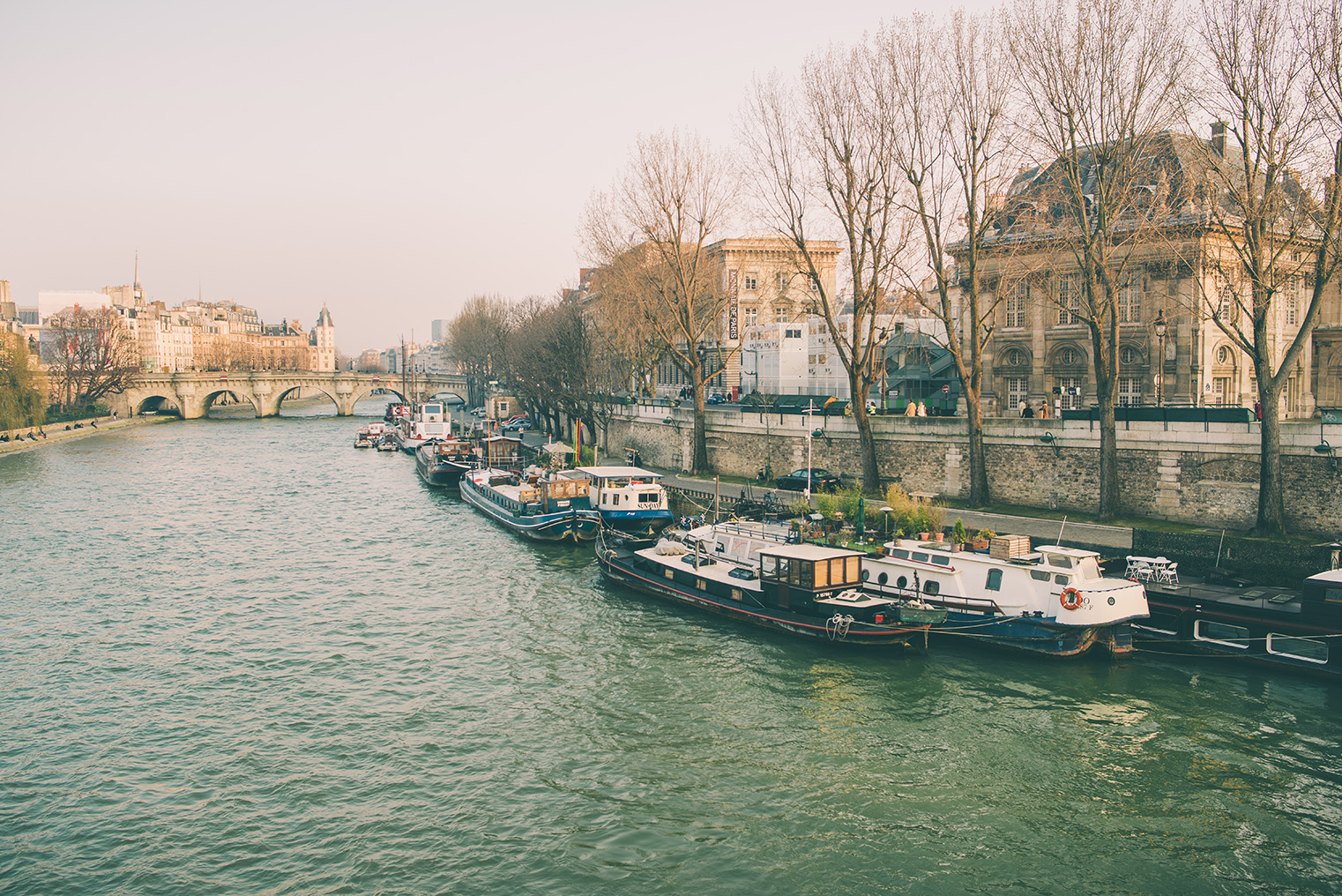 02.Nad brzegami Sekwany - Paryz wiosna