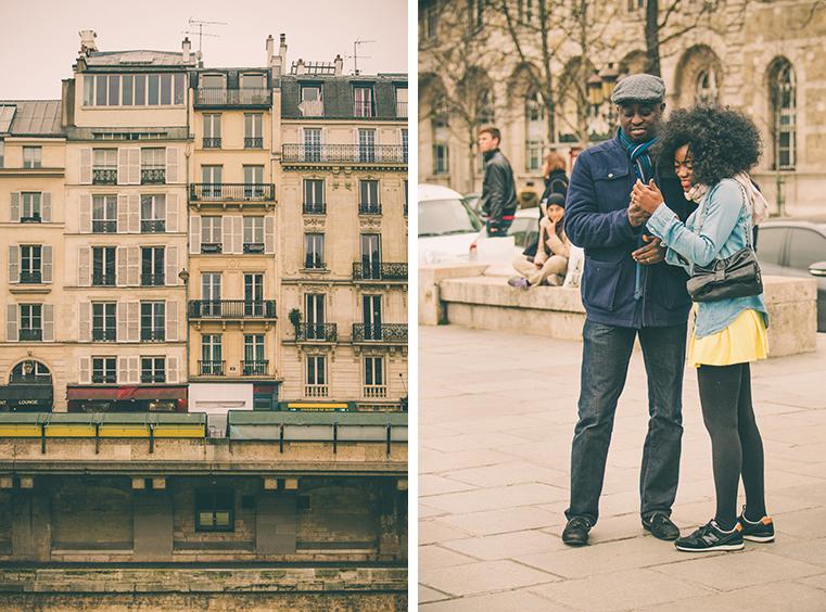 03a.Nad brzegami Sekwany - Paryz wiosna