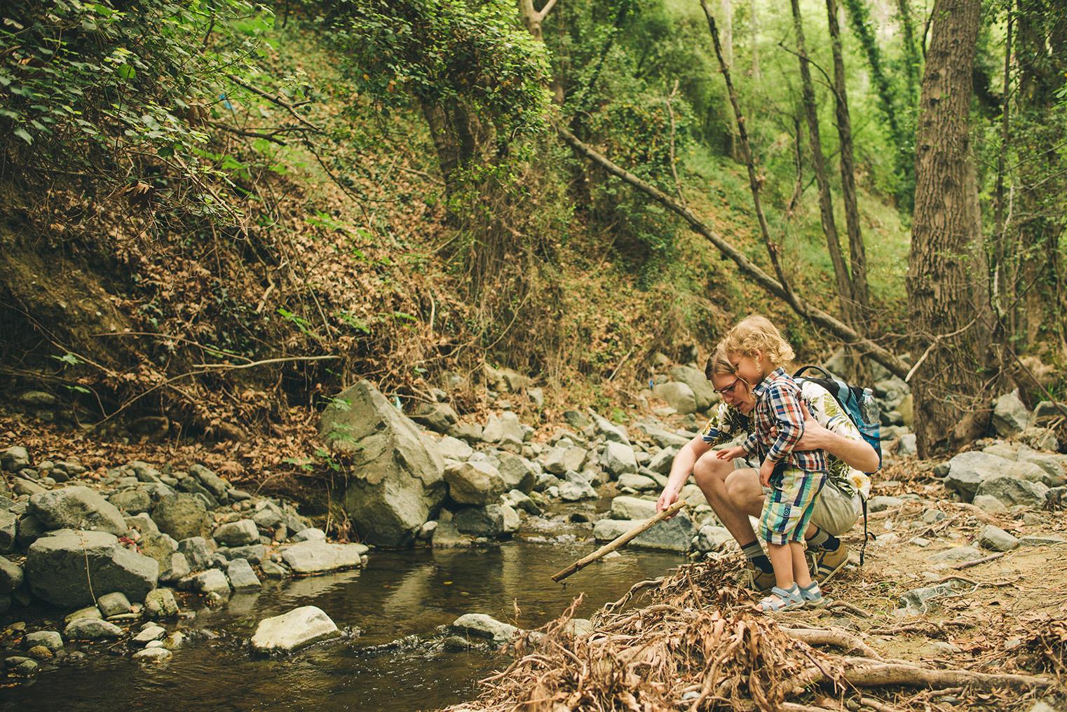 03.Gory Troodos - Omodos -Wodospad Millomeris - Cypr z dzieckiem