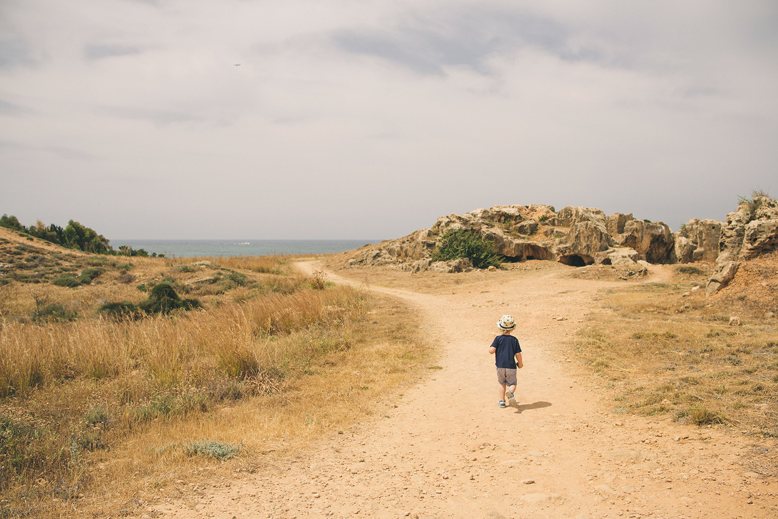 02.Groby Krolewskie Pafos - Cypr - podroz z dzieckiem