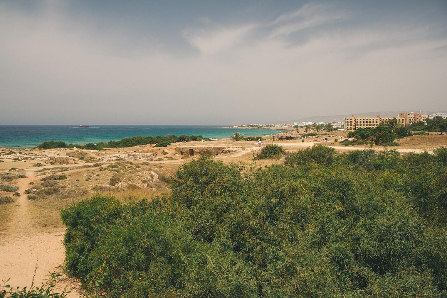 03.Groby Krolewskie Pafos - Cypr - podroz z dzieckiem