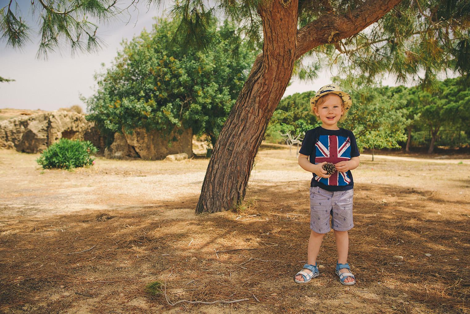 04.Groby Krolewskie Pafos - Cypr - podroz z dzieckiem