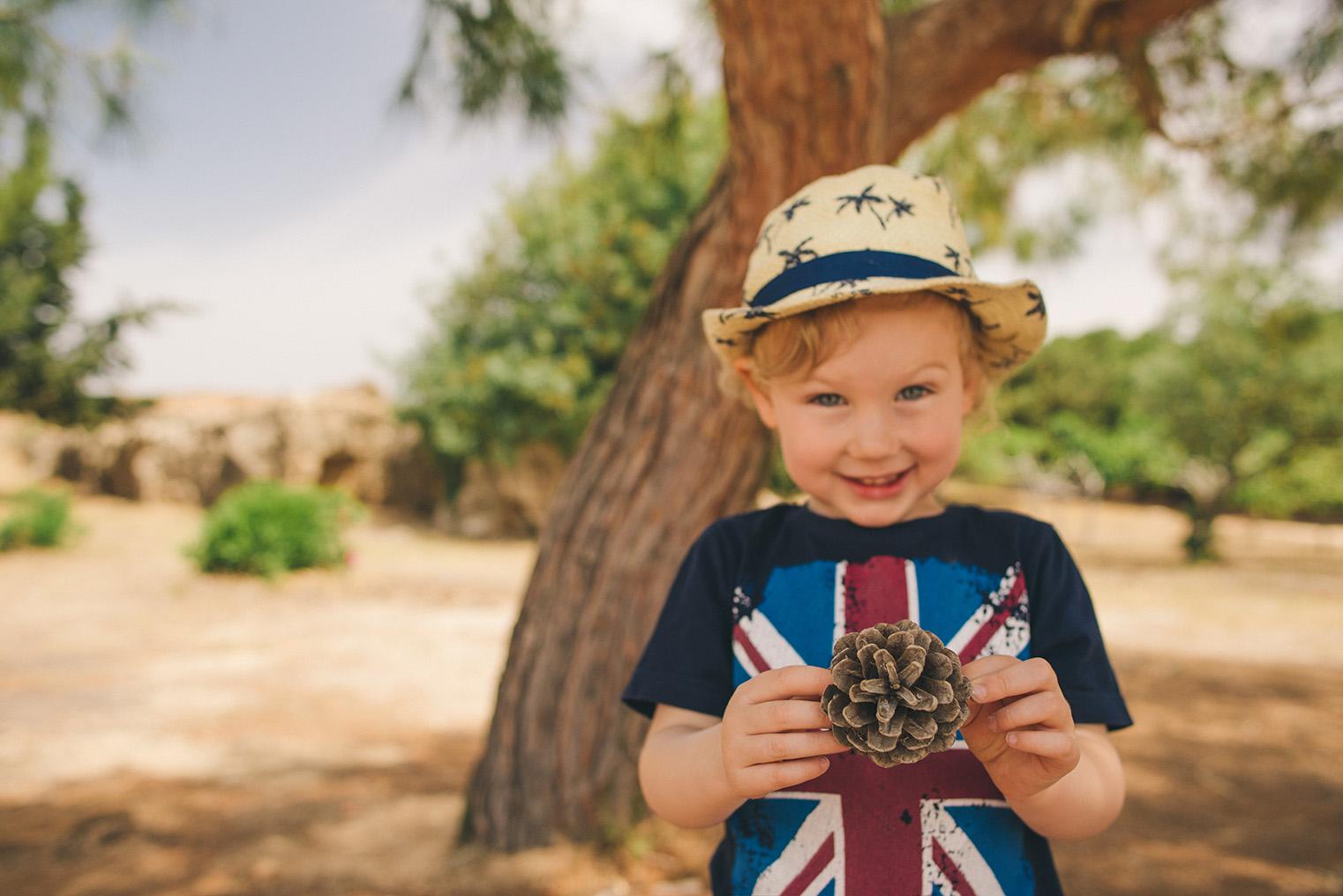 05.Groby Krolewskie Pafos - Cypr - podroz z dzieckiem