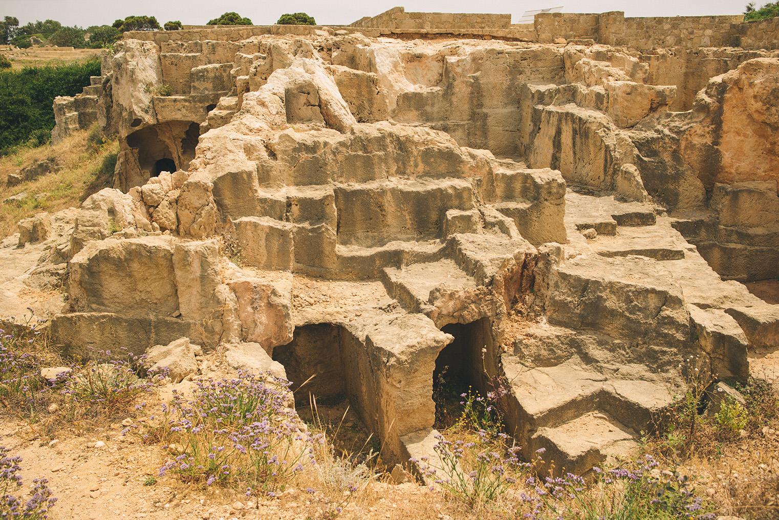 06.Groby Krolewskie Pafos - Cypr - podroz z dzieckiem
