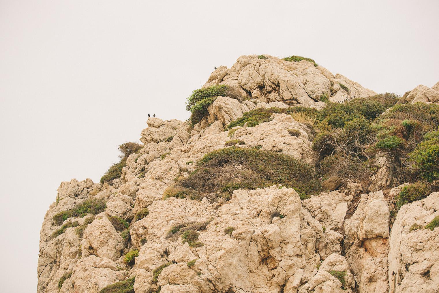 06.Skala Afrodyty - kamienista plaza - Cypr z dzieckiem