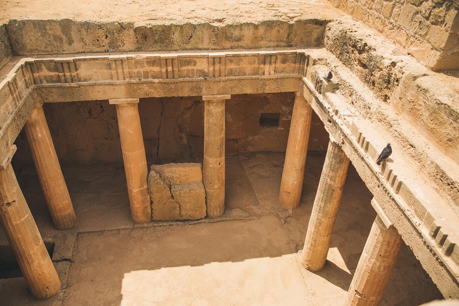 10.Groby Krolewskie Pafos - Cypr - podroz z dzieckiem