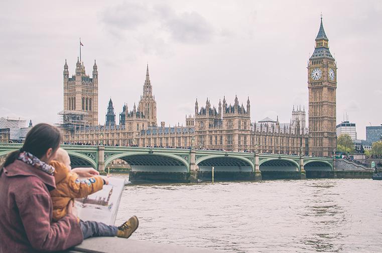 Pierwsze spojrzenie na Londyn