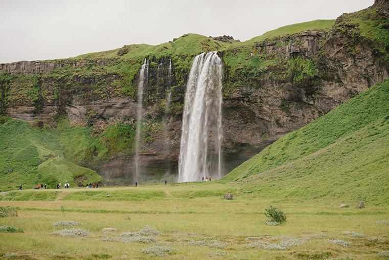 Wodospady południowej Islandii